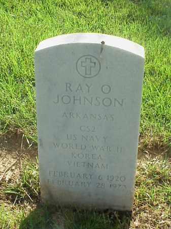JOHNSON (VETERAN 3 WARS), RAY O - Pulaski County, Arkansas   RAY O JOHNSON (VETERAN 3 WARS) - Arkansas Gravestone Photos