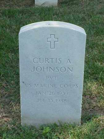JOHNSON (VETERAN), CURTIS A - Pulaski County, Arkansas   CURTIS A JOHNSON (VETERAN) - Arkansas Gravestone Photos