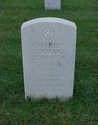 JOHNSON (VETERAN), CHARLES LAMAR - Pulaski County, Arkansas   CHARLES LAMAR JOHNSON (VETERAN) - Arkansas Gravestone Photos