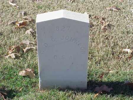JOHNSON (VETERAN CSA), C D C - Pulaski County, Arkansas   C D C JOHNSON (VETERAN CSA) - Arkansas Gravestone Photos
