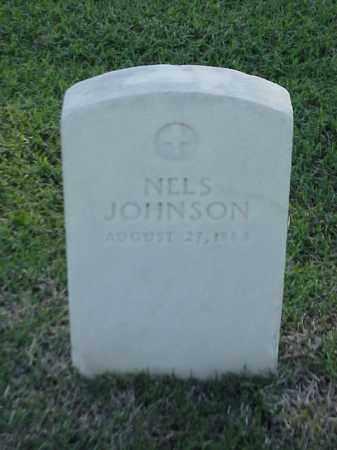JOHNSON (VETERAN UNION), NELS - Pulaski County, Arkansas | NELS JOHNSON (VETERAN UNION) - Arkansas Gravestone Photos