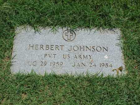 JOHNSON (VETERAN), HERBERT - Pulaski County, Arkansas | HERBERT JOHNSON (VETERAN) - Arkansas Gravestone Photos
