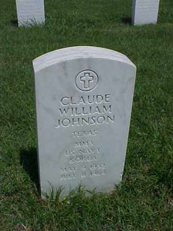 JOHNSON (VETERAN KOR), CLAUDE WILLIAM - Pulaski County, Arkansas | CLAUDE WILLIAM JOHNSON (VETERAN KOR) - Arkansas Gravestone Photos