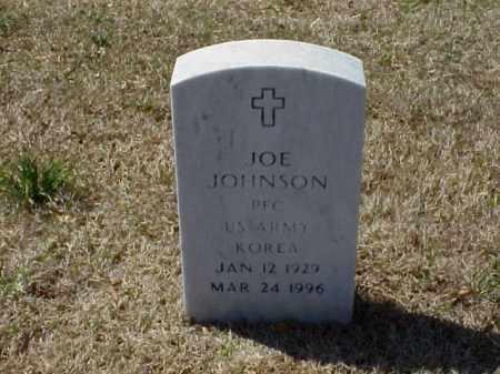 JOHNSON (VETERAN KOR), JOE - Pulaski County, Arkansas   JOE JOHNSON (VETERAN KOR) - Arkansas Gravestone Photos