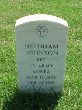 JOHNSON (VETERAN KOR), NEEDHAM - Pulaski County, Arkansas | NEEDHAM JOHNSON (VETERAN KOR) - Arkansas Gravestone Photos