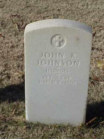 JOHNSON (VETERAN SAW), JOHN K - Pulaski County, Arkansas | JOHN K JOHNSON (VETERAN SAW) - Arkansas Gravestone Photos