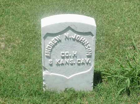 JOHNSON (VETERAN UNION), ANDREW N - Pulaski County, Arkansas   ANDREW N JOHNSON (VETERAN UNION) - Arkansas Gravestone Photos