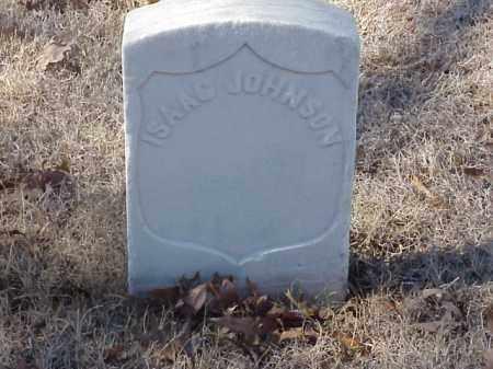 JOHNSON (VETERAN UNION), ISAAC - Pulaski County, Arkansas | ISAAC JOHNSON (VETERAN UNION) - Arkansas Gravestone Photos