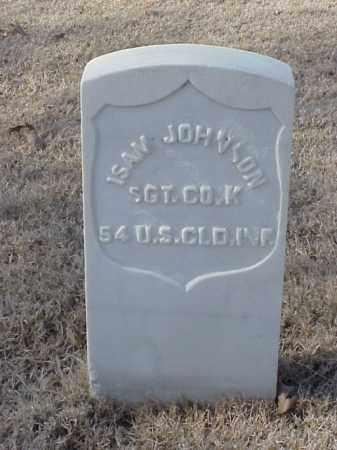 JOHNSON (VETERAN UNION), ISAM - Pulaski County, Arkansas   ISAM JOHNSON (VETERAN UNION) - Arkansas Gravestone Photos