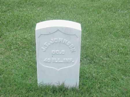 JOHNSON (VETERAN UNION), JOHN F - Pulaski County, Arkansas | JOHN F JOHNSON (VETERAN UNION) - Arkansas Gravestone Photos