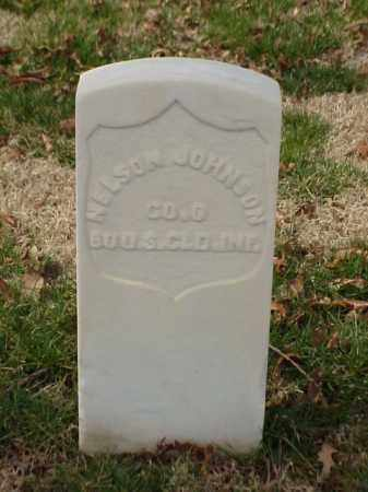 JOHNSON (VETERAN UNION), NELSON - Pulaski County, Arkansas | NELSON JOHNSON (VETERAN UNION) - Arkansas Gravestone Photos