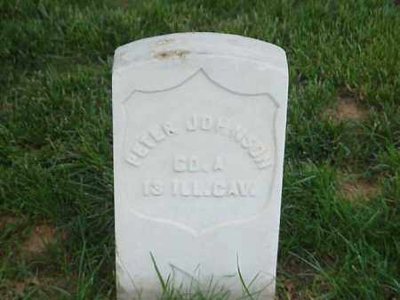 JOHNSON (VETERAN UNION), PETER - Pulaski County, Arkansas | PETER JOHNSON (VETERAN UNION) - Arkansas Gravestone Photos