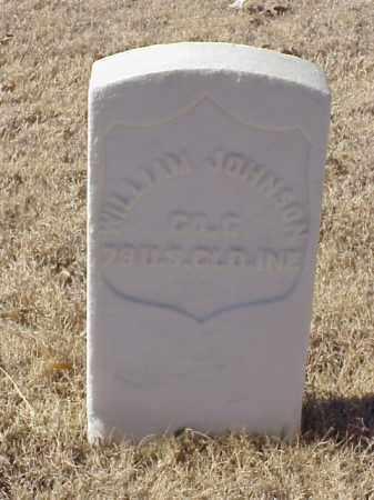 JOHNSON (VETERAN UNION), WILLIAM - Pulaski County, Arkansas   WILLIAM JOHNSON (VETERAN UNION) - Arkansas Gravestone Photos