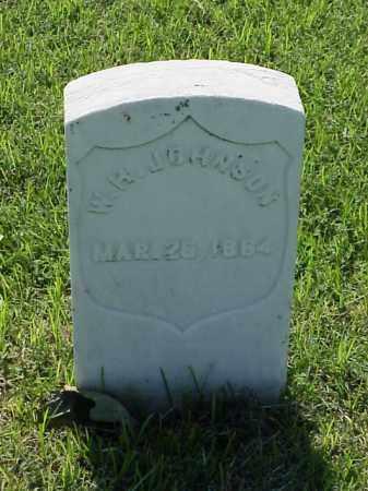 JOHNSON (VETERAN UNION), W H - Pulaski County, Arkansas | W H JOHNSON (VETERAN UNION) - Arkansas Gravestone Photos