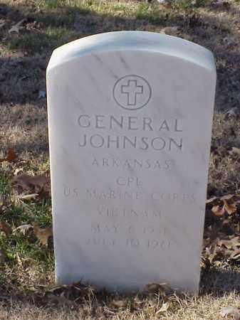 JOHNSON (VETERAN VIET), GENERAL - Pulaski County, Arkansas   GENERAL JOHNSON (VETERAN VIET) - Arkansas Gravestone Photos