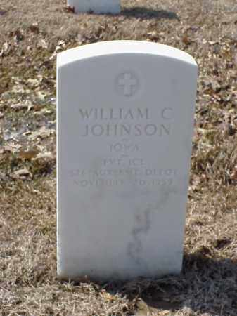 JOHNSON (VETERAN), WILLIAM C - Pulaski County, Arkansas | WILLIAM C JOHNSON (VETERAN) - Arkansas Gravestone Photos