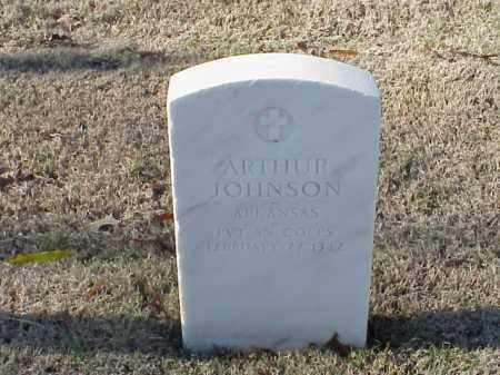 JOHNSON (VETERAN WWI), ARTHUR - Pulaski County, Arkansas | ARTHUR JOHNSON (VETERAN WWI) - Arkansas Gravestone Photos
