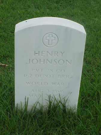 JOHNSON (VETERAN WWI), HENRY - Pulaski County, Arkansas | HENRY JOHNSON (VETERAN WWI) - Arkansas Gravestone Photos