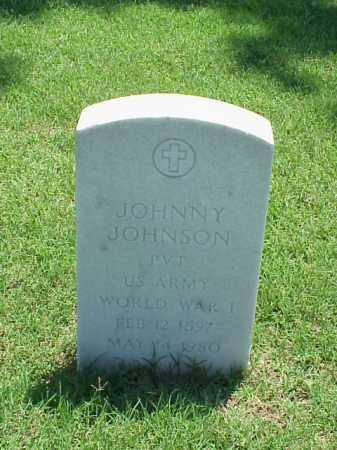 JOHNSON (VETERAN WWI), JOHNNY - Pulaski County, Arkansas | JOHNNY JOHNSON (VETERAN WWI) - Arkansas Gravestone Photos