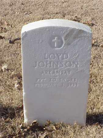 JOHNSON (VETERAN WWI), LOYD - Pulaski County, Arkansas | LOYD JOHNSON (VETERAN WWI) - Arkansas Gravestone Photos