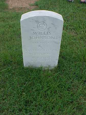 JOHNSON (VETERAN WWI), WILLIS - Pulaski County, Arkansas | WILLIS JOHNSON (VETERAN WWI) - Arkansas Gravestone Photos