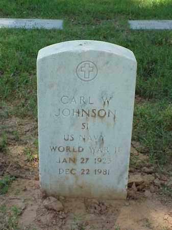 JOHNSON (VETERAN WWII), CARL W - Pulaski County, Arkansas | CARL W JOHNSON (VETERAN WWII) - Arkansas Gravestone Photos