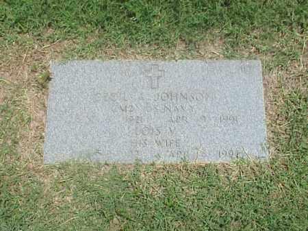 JOHNSON, LOIS V - Pulaski County, Arkansas | LOIS V JOHNSON - Arkansas Gravestone Photos