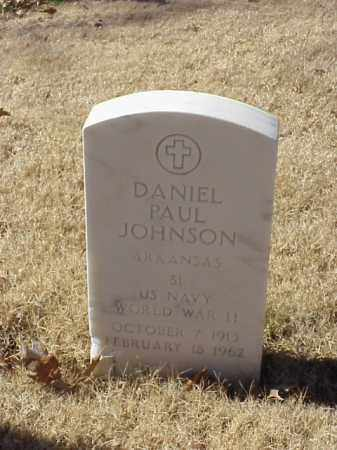 JOHNSON (VETERAN WWII), DANIEL PAUL - Pulaski County, Arkansas | DANIEL PAUL JOHNSON (VETERAN WWII) - Arkansas Gravestone Photos