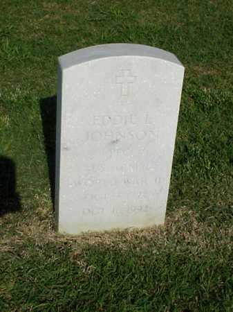 JOHNSON (VETERAN WWII), EDDIE L - Pulaski County, Arkansas | EDDIE L JOHNSON (VETERAN WWII) - Arkansas Gravestone Photos