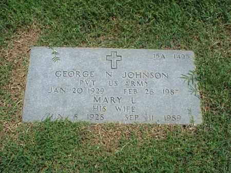 JOHNSON, MARY L - Pulaski County, Arkansas   MARY L JOHNSON - Arkansas Gravestone Photos