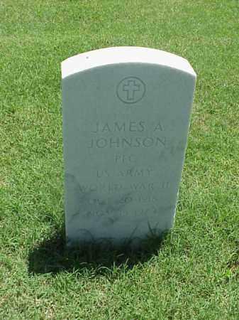 JOHNSON (VETERAN WWII), JAMES A - Pulaski County, Arkansas   JAMES A JOHNSON (VETERAN WWII) - Arkansas Gravestone Photos
