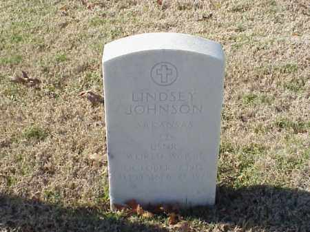 JOHNSON (VETERAN WWII), LINDSEY - Pulaski County, Arkansas | LINDSEY JOHNSON (VETERAN WWII) - Arkansas Gravestone Photos