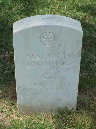 JOHNSON (VETERAN WWII), MAURICE - Pulaski County, Arkansas | MAURICE JOHNSON (VETERAN WWII) - Arkansas Gravestone Photos