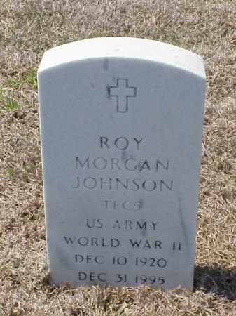 JOHNSON (VETERAN WWII), ROY MORGAN - Pulaski County, Arkansas   ROY MORGAN JOHNSON (VETERAN WWII) - Arkansas Gravestone Photos