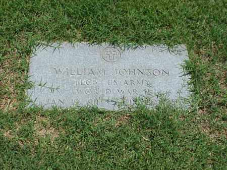 JOHNSON (VETERAN WWII), WILLIAM - Pulaski County, Arkansas | WILLIAM JOHNSON (VETERAN WWII) - Arkansas Gravestone Photos