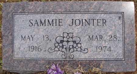 JOINTER, SAMMIE - Pulaski County, Arkansas | SAMMIE JOINTER - Arkansas Gravestone Photos