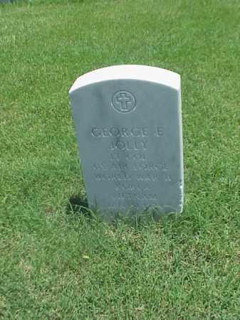JOLLY (VETERAN 3 WARS), GEORGE E - Pulaski County, Arkansas | GEORGE E JOLLY (VETERAN 3 WARS) - Arkansas Gravestone Photos