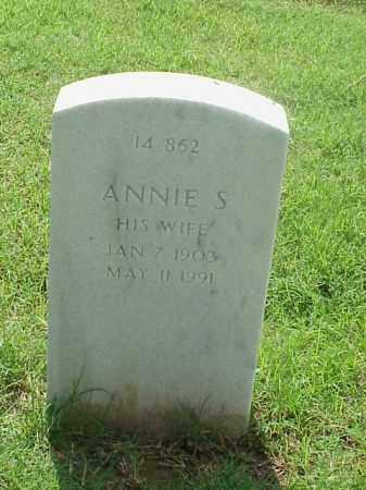 JONES, ANNIE S. - Pulaski County, Arkansas | ANNIE S. JONES - Arkansas Gravestone Photos