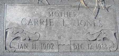 JONES, CARRIE L - Pulaski County, Arkansas | CARRIE L JONES - Arkansas Gravestone Photos