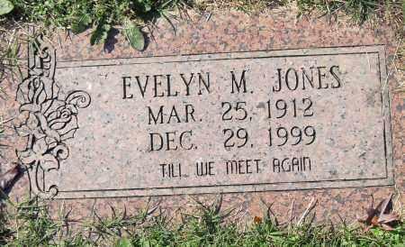 JONES, EVELYN M - Pulaski County, Arkansas | EVELYN M JONES - Arkansas Gravestone Photos