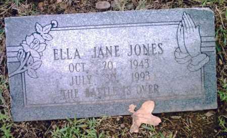 JONES, ELLA JANE - Pulaski County, Arkansas   ELLA JANE JONES - Arkansas Gravestone Photos