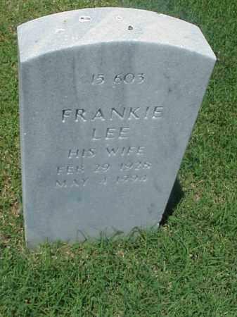 JONES, FRANKIE LEE - Pulaski County, Arkansas   FRANKIE LEE JONES - Arkansas Gravestone Photos