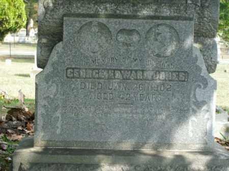 JONES, GEORGE EDWARD - Pulaski County, Arkansas | GEORGE EDWARD JONES - Arkansas Gravestone Photos