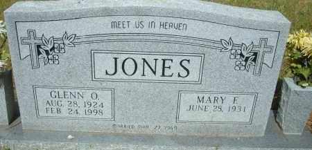 JONES, GLENN O. - Pulaski County, Arkansas | GLENN O. JONES - Arkansas Gravestone Photos