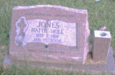 JONES, HATTIE DOLL - Pulaski County, Arkansas | HATTIE DOLL JONES - Arkansas Gravestone Photos