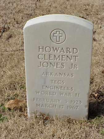 JONES, JR (VETERAN WWII), HOWARD CLEMENT - Pulaski County, Arkansas   HOWARD CLEMENT JONES, JR (VETERAN WWII) - Arkansas Gravestone Photos