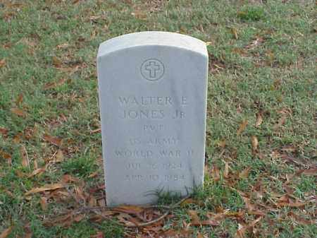 JONES, JR (VETERAN WWII), WALTER E - Pulaski County, Arkansas | WALTER E JONES, JR (VETERAN WWII) - Arkansas Gravestone Photos