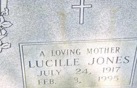 JONES, LUCILLE - Pulaski County, Arkansas | LUCILLE JONES - Arkansas Gravestone Photos