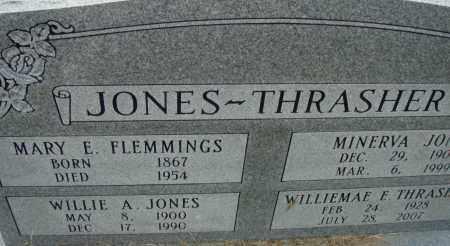 FLEMMINGS JONES, MARY E. - Pulaski County, Arkansas | MARY E. FLEMMINGS JONES - Arkansas Gravestone Photos