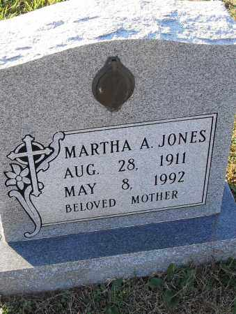 JONES, MARTHA A - Pulaski County, Arkansas | MARTHA A JONES - Arkansas Gravestone Photos